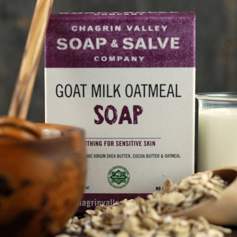 Organic Soap Labeling