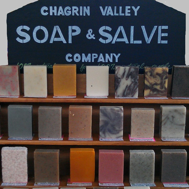 How We Make Soap At Chagrin Valley