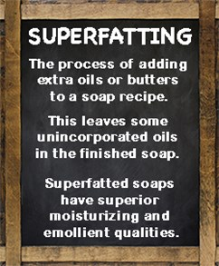 Superfatted Natural Organic Soap
