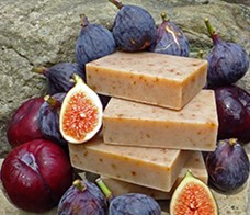 Natural Organic Fig Soap