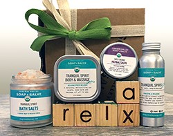 Relaxation aromatherapy gift
