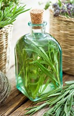 Organic Rosemary Vinegar Hair Rinse
