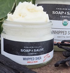 Natural Vanilla Whipped Shea Butter