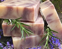 Natural Organic Lavender Soap