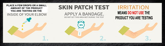 Skin Care Allergy Patch Test