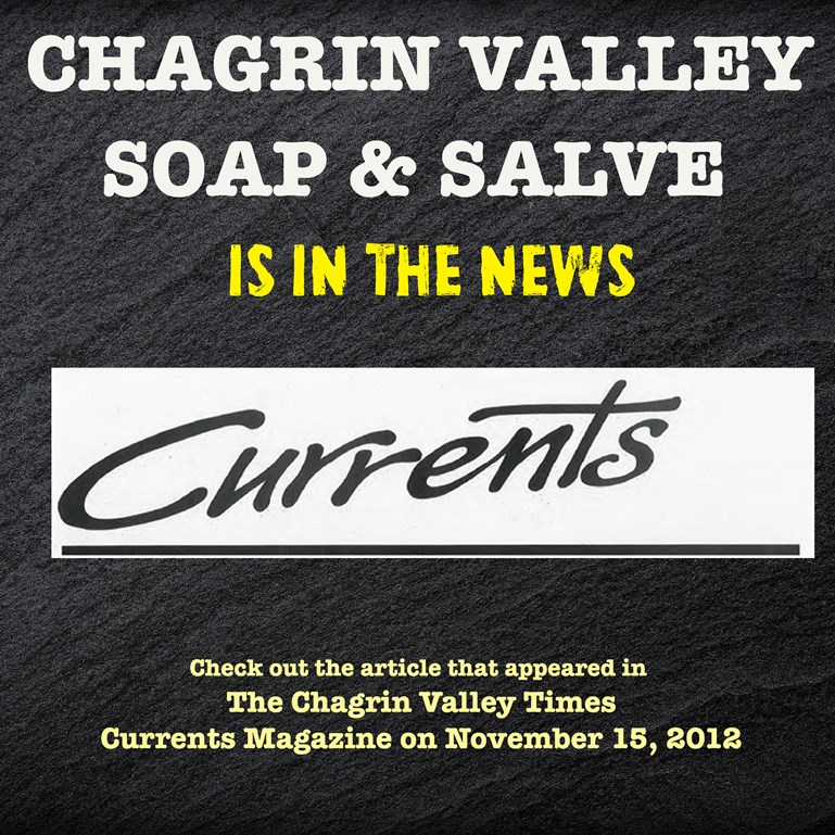 Chagrin Valley Soap in The Chagrin Valley Times
