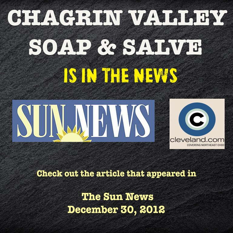 Chagrin Valley Soap in Solon Sun Newspaper