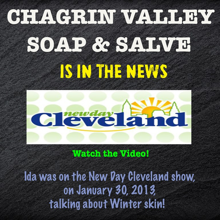 Chagrin Valley Soap on New Day Cleveland Show