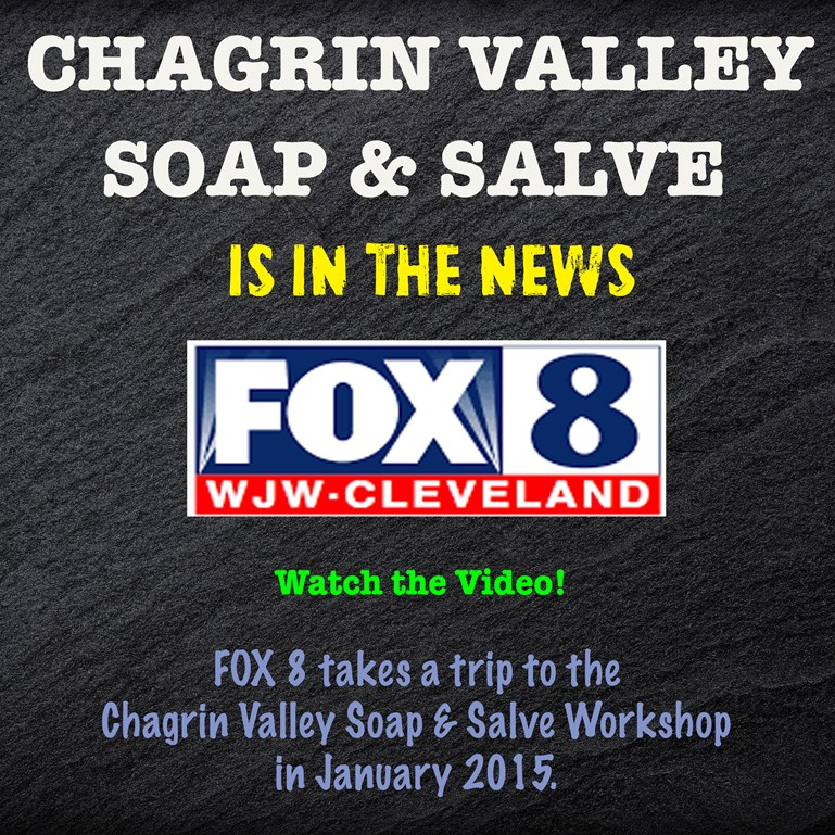 Chagrin Valley Soap on Fox 8 News