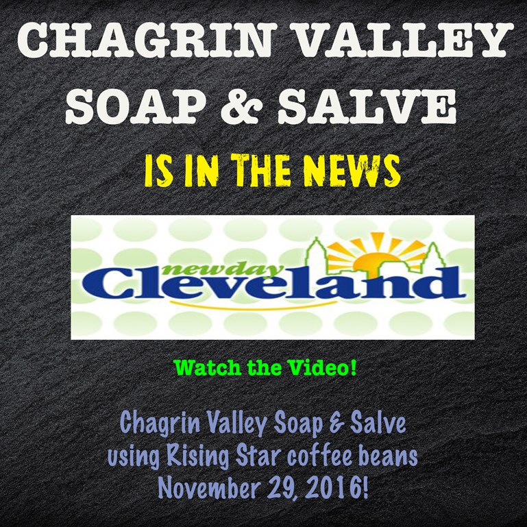 Chagrin Valley Soap & Rising Star Coffee on New Day Cleveland