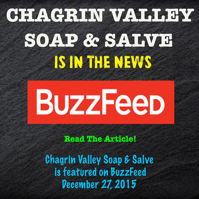 Chagrin Valley Soap on BuzzFeed