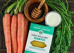 Natural Carrot Shampoo