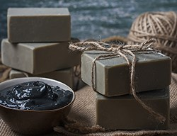 Natural Dead Sea Mud & Black Clay Soap