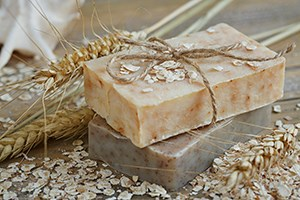 Natural Organic Goat Milk  Oatmeal Soap