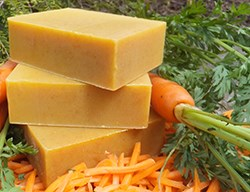 Natural Organic Carrot Soap