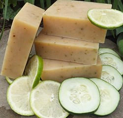Natural Organic Cucumber Soap