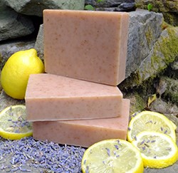 Natural Organic Lemon Lavender Soap
