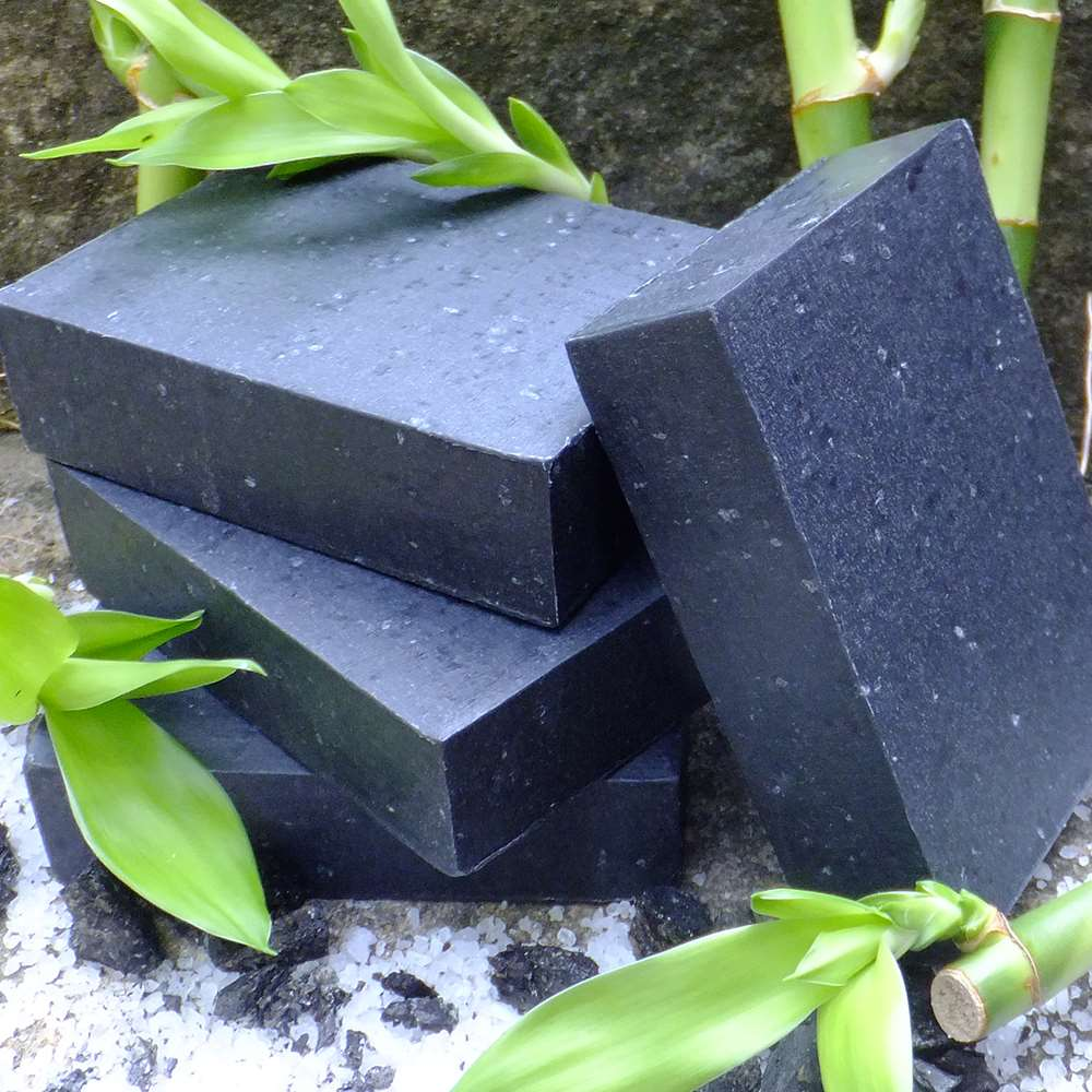 Natural Activated Bamboo Charcoal Acne Soap