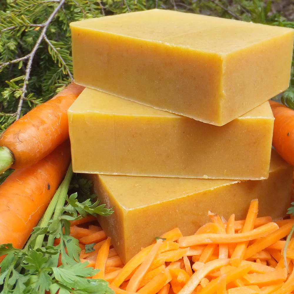 Natural Organic Carrot Complexion Soap