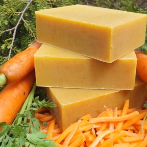Organic-Natural-Handmade-Carrot-Soap