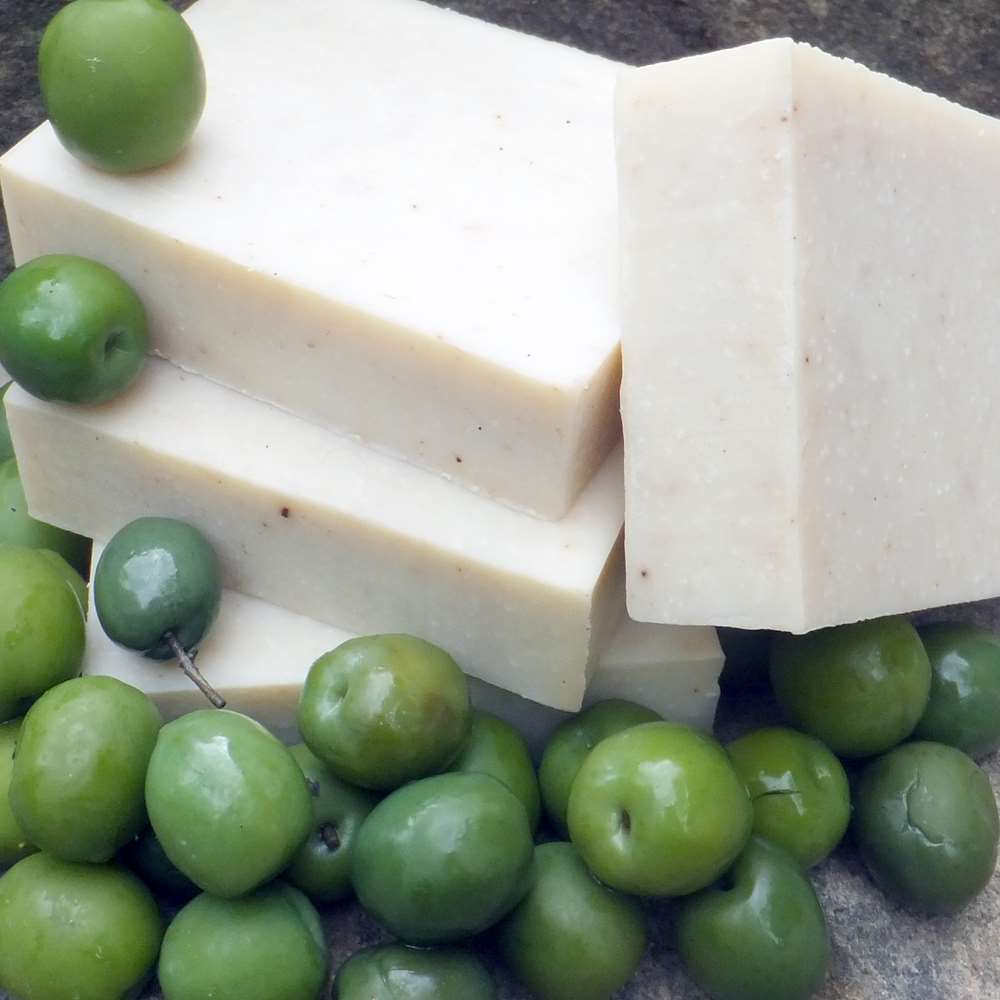 Natural Castile Olive Oil and Shea Butter Soap