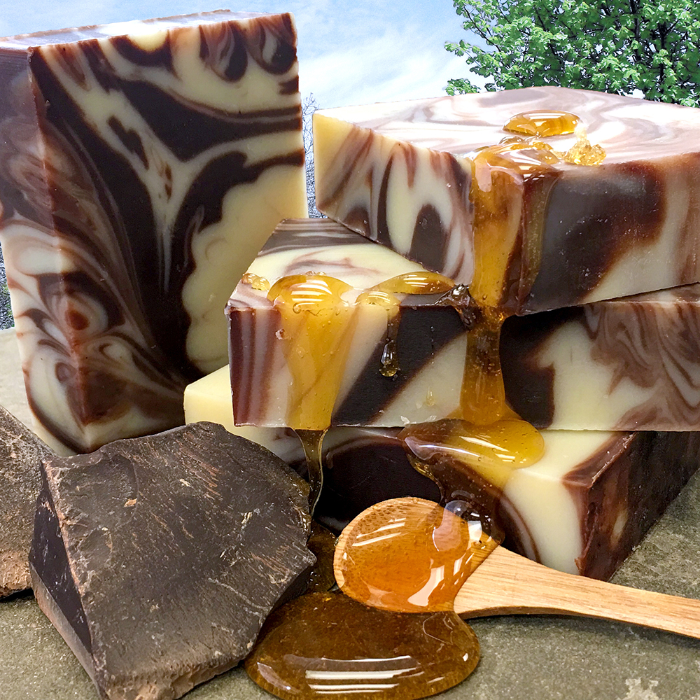 Natural Soap Chocolate Amp Honey Chagrin Valley Soap