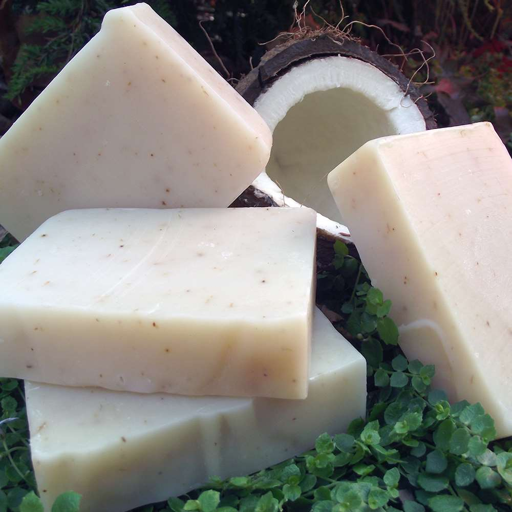 Natural Organic Coconut Milk and Shea Butter Soap