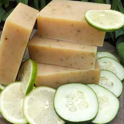 Soap: Cucumber Lime Yogurt