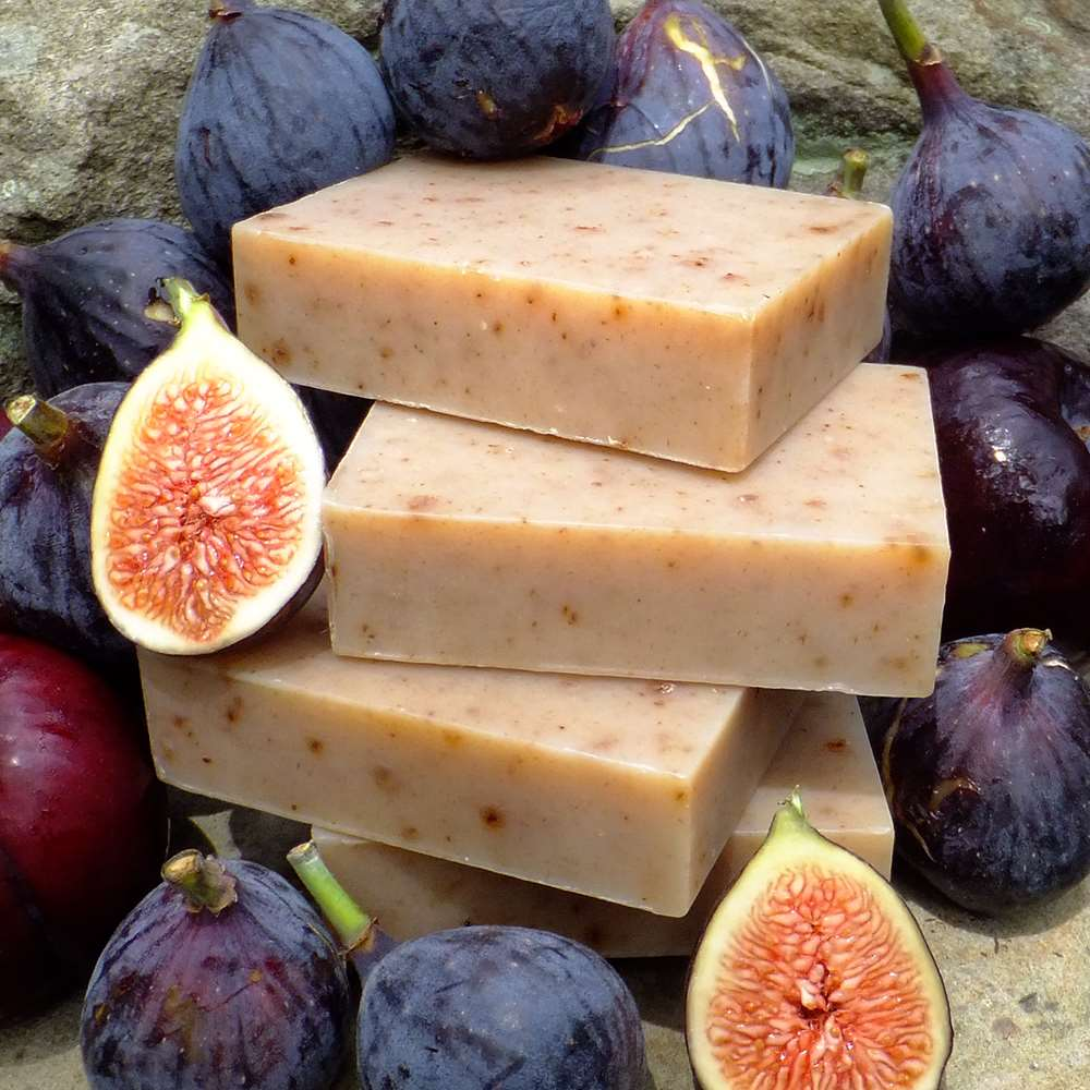 Natural Organic Fig and Plum Complexion Soap