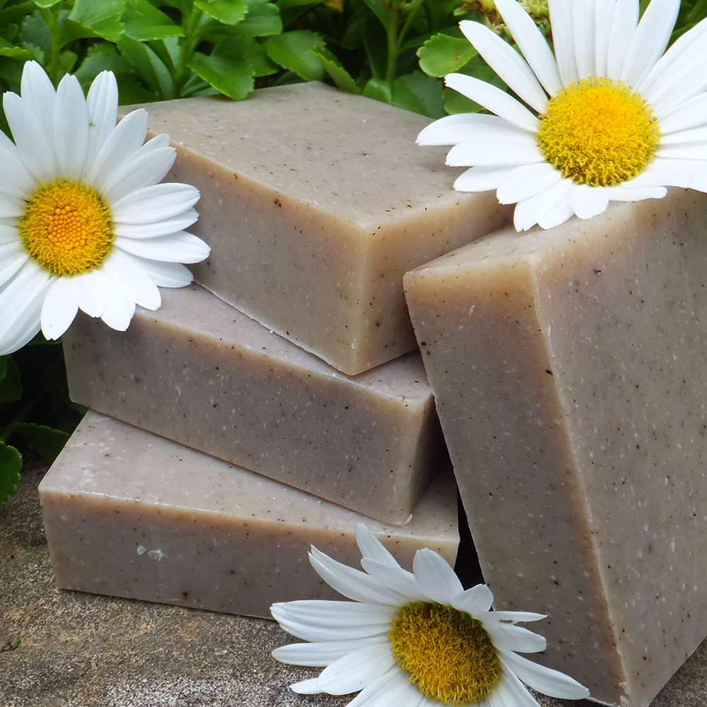 Natural Organic Patchouli Hemp Soap
