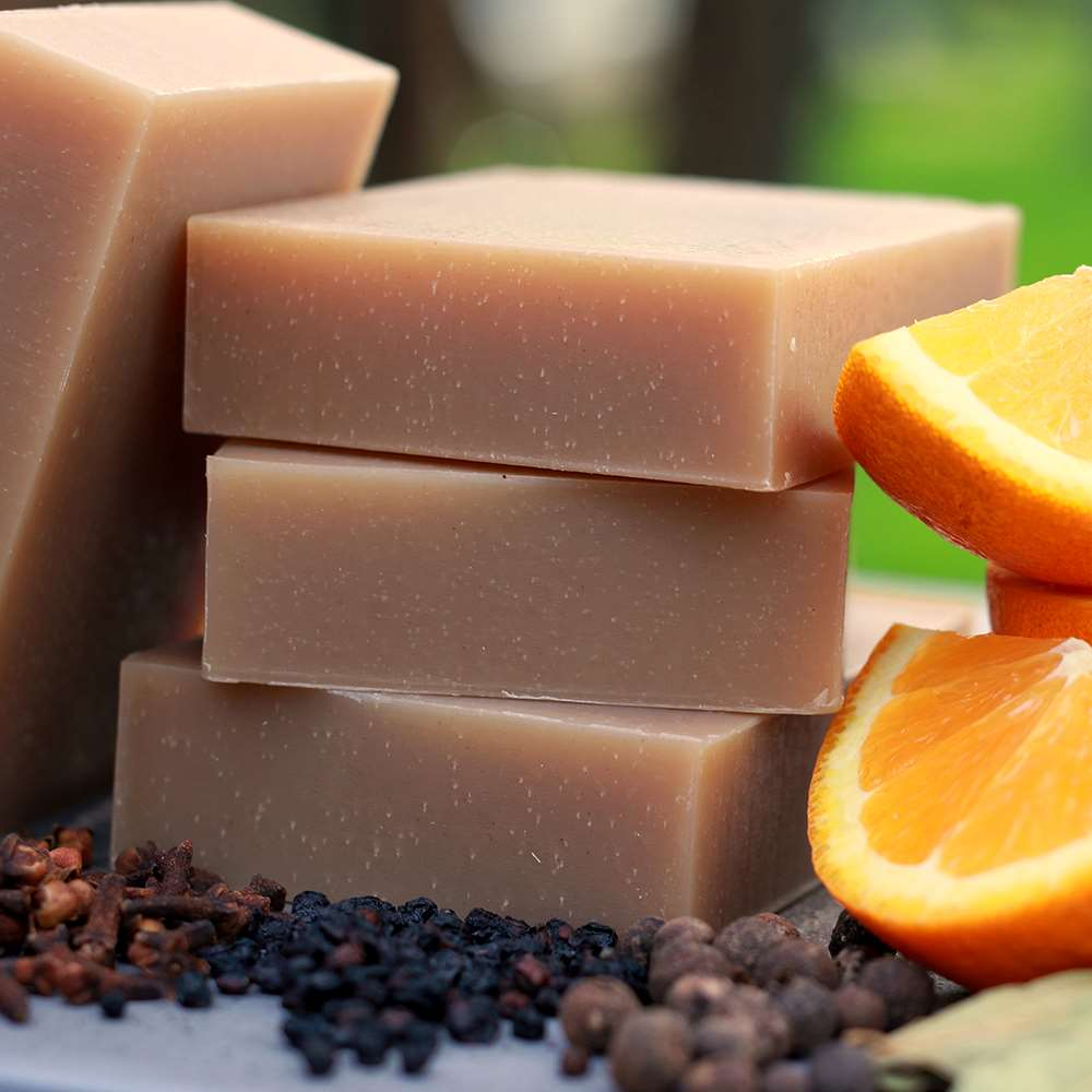Natural Organic Bay Rum Body Soap for Men
