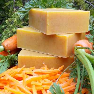 Shampoo Bar: Carrot Milk & Honey