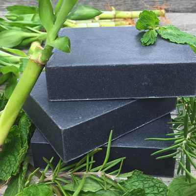 Shampoo Bar: Rosemary Mint Charcoal