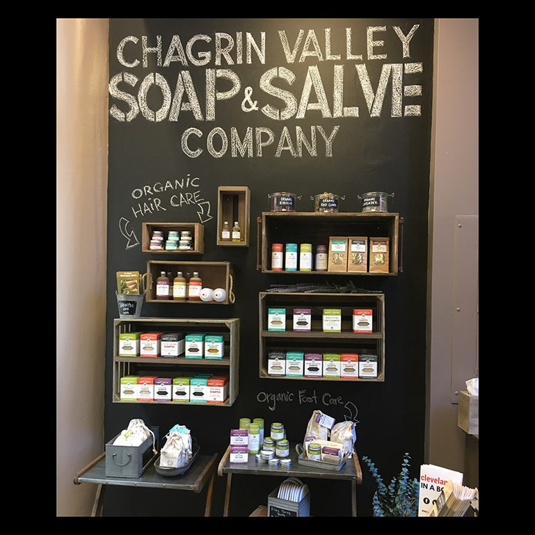 Chagrin Valley Soap & Salve Downtown Cleveland