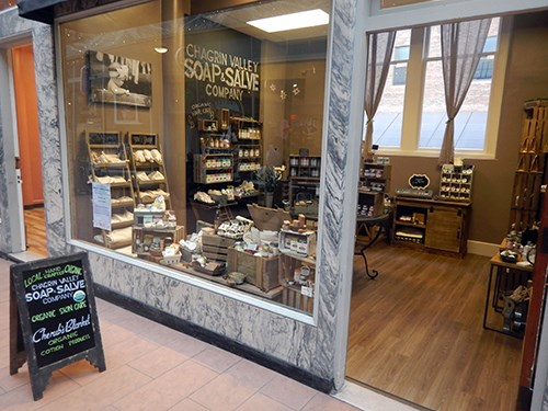 Chagrin Valley Soap Downtown Cleveland