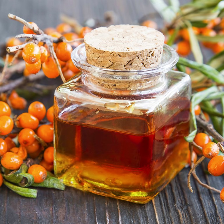 Organic Unrefined Sea Buckthorn Oil