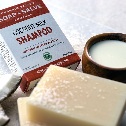 Natural Coconut Shampoo