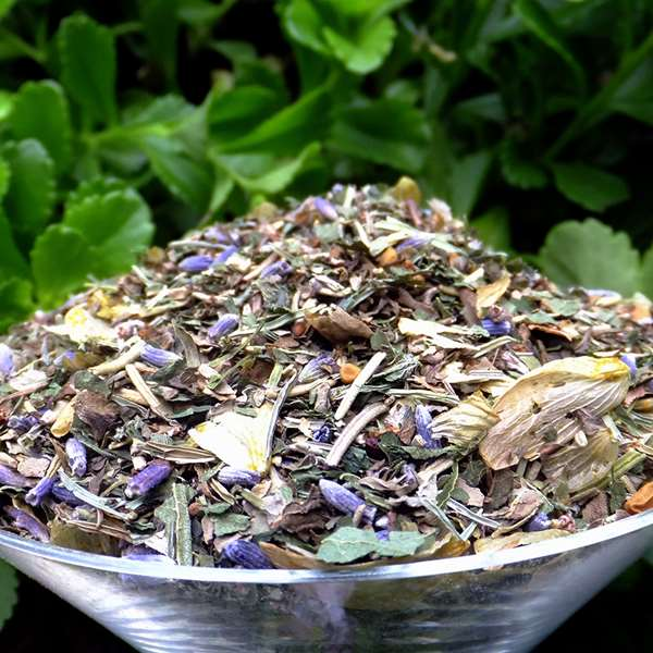 Herbal Hair Tea Rinse: Stimulation Blend
