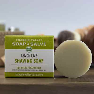 Shaving Soap: Lemon Lime