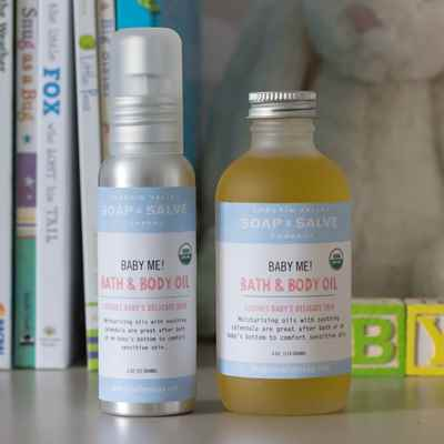 Baby Me! Unscented Bath & Body Oil
