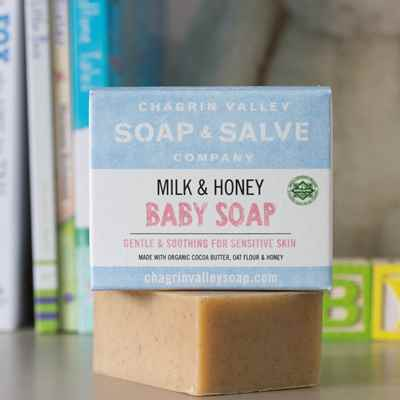 Soap: Milk & Honey Baby Soap