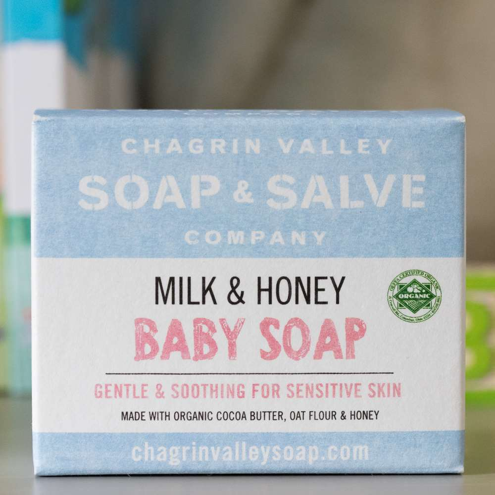Natural Organic Unscented Goat Milk Baby Soap