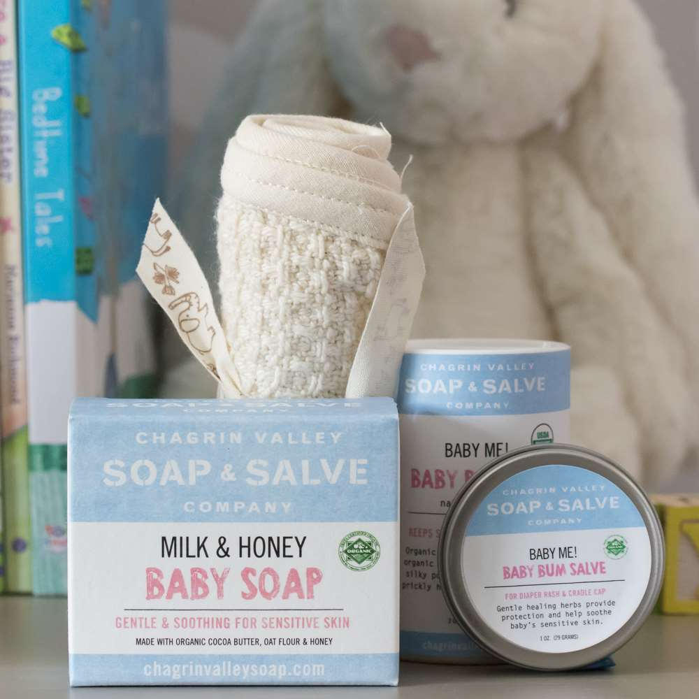 Baby Me Organic Bundle Chagrin Valley Soap