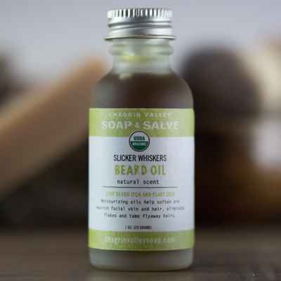 Beard Oil: Natural Scent