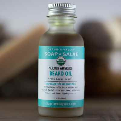 Beard Oil: Fresh Herbs Scent