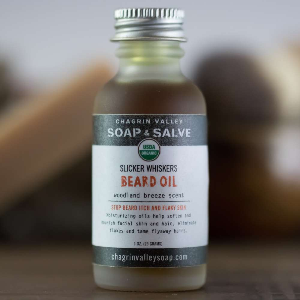 Natural Organic Woodland Beard Oil