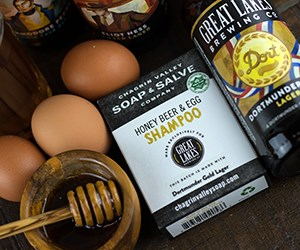 Natural Organic Egg and Beer Shampoo