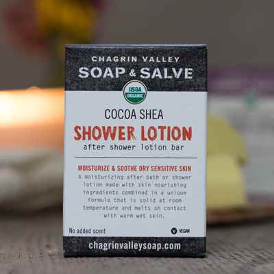 Shower Butter Bar:  Cocoa Shea
