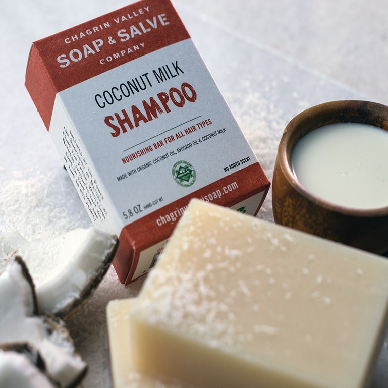 Organic Shampoo Bars | Chagrin Valley Soap