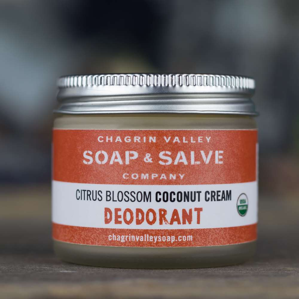 Natural Organic Coconut Cream Citrus Deodorant